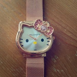 BN Rose Gold Hello Kitty Watch